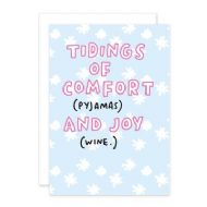 Veronica Dearly 'Tidings of Comfort and Joy' Christmas Card